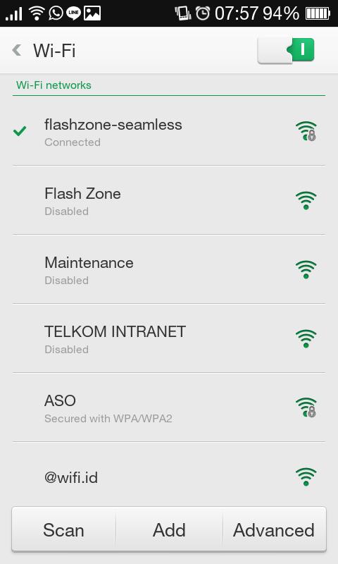 Telkomsel Wifi Flashzone Seamless Metamorf